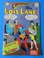 SUPERMAN'S GIRLFRIEND LOIS LANE #64 ~ 1966 DC SILVER AGE ~ VF+