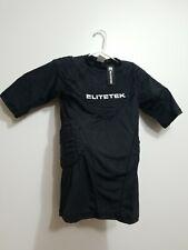 Elitetek Black Dri-Fit Padded Athletic Football Compression Shirt Mens Medium