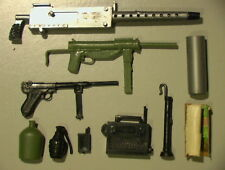 GI Joe VINTAGE 1960's Lot of 10 Parts & Weapons C-6 Hasbro Action Man!!!!!!!!!!!