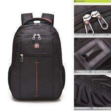 "New 15"" Original Waterproof Swiss Gear Men Travel Bags Meeting Laptop Backpack"