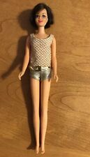 vintage barbie brunette #1180 Twist casey doll With Original Swimsuit.