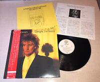 Rod Stewart Tonight I'm Yours JAPAN IMPORT LP + OBI & 2 INSERTS P-11067W NM/VG+