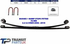 REAR DOUBLE ( 2 ) TWIN LEAF SPRING + UBOLTS FOR FORD TRANSIT MK7 2006-2015 RWD