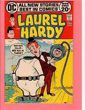LAUREL & HARDY DC COMIC BOOK #1 8.0 VF 1972 Larry Harmon Low Print Run Sekowsky