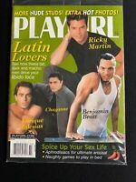 Playgirl Magazine October 1999 - Ricky Martin, Benjamin Bratt