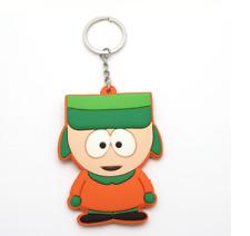 South Park Funny Cartoon Key Chain Phone Charm Kyle Broflovski Rubber Keyring