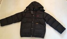 RALPH LAUREN  BOYS BLACK PUFFER  DETACHABLE HOOD S(8Y)  RRP£145 NOW£79.50
