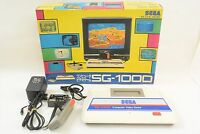 SEGA SG-1000 Console System Boxed Tested FREE SHIPPING Computer Video Game 0325