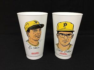 Vintage 7-11 Slurpee Hebner Blass Pittsburgh MLB
