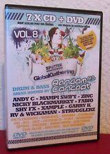 Random Concept Vol 8 CD DVD Pack global Gathering Drum & Bass Jungle Rave 2007