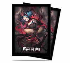 Force of Will: A4, Valentina Deck Protector Sleeves UPI 84968