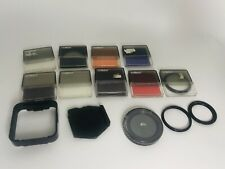 Cokin Filter SET With Cases - Lot Of Camara Pieces Pola - Made In France Filters
