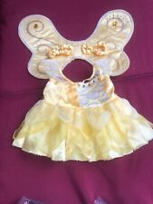 Build-a-Bear Yellow Fairy Dress with Detachable Wings