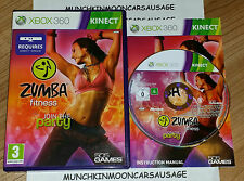 Zumba Fitness Join The Party PAL Format Microsoft XBOX 360 KINECT REQUIRED