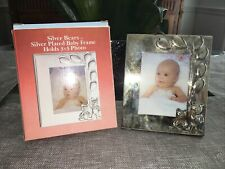 Silver Plated 3x5 Frame Bears