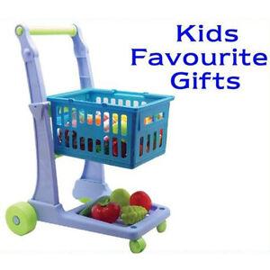 Kids Children Shopping Cart Children Super Market Trolley Toys
