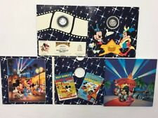 Disney MGM Studios Mickey Minnie Opening May 1989 1/10 oz. .999 Silver LE Coin
