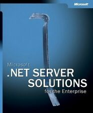 Good, Microsoft® .NET Server Solutions for the Enterprise (Pro-One-Offs), Micros
