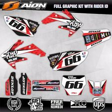 HONDA CRF 250 R 2006 2007 Decals kit AION MX Graphics kits