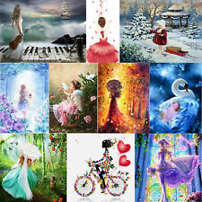 5D DIY Beauty Girls Diamond Painting Embroidery Cross Stitch Kit Craft Art Decor