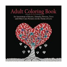Adult Coloring Book of Love: 55 Pictures to Color on the Theme ... Free Shipping