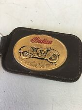 Indian Motorcycle Keychain Vintage
