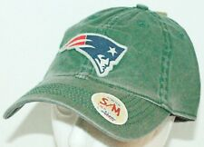 NEW ENGLAND PATRIOTS ADULT S/M GREEN STRETCH SLOUCH HAT NFL FOOTBALL REEBOK NEW