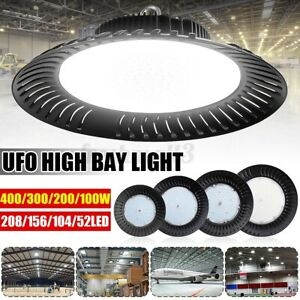 200W 300W 400W UFO HIGH LOW BAY LED WORK LIGHT WAREHOUSE FACTORY DOWNLIGHT LAMP