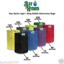 BAY HYDRO 5gal / 8bag Bubble ICE Extraction Bags HIGH QUALITY Make ur MEDS CLEAN