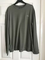 BRAND NEW LACOSTE CROC LONG-SLEEVED T-SHIRT GREEN SIZES SMALL, XL