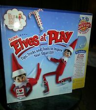 Elf on the Shelf Scout Elves At Play Kit candy cane boots swing NEW!