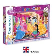 104 Piece DISNEY PRINCESS JIGSAW PUZZLE Kids Birthday Christmas Toy Gift Box UK