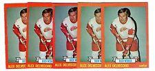 1X ALEX DELVECCHIO 1973 74 Topps #141 NRMT Lots Available Red Wings