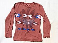 Tee-Shirt Marron Clair Motifs Complices 14-16 ans
