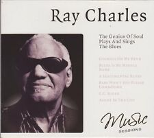 CD album ray Charles the Genius of soul plays and sing the blues 2006