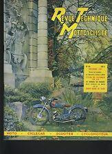 (12B)REVUE TECHNIQUE MOTO SALON 1951/ CYCLECARS / VILLIERS 100cc / AUTO-MOTO AM