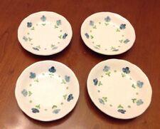 Set of (4) Vintage METLOX POPPYTRAIL VERNON 'TRUE BLUE' Coasters RARE!!!