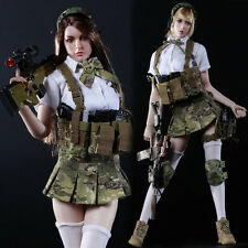 """1/6 Sexy Female Soldiers Model JK GIRL SET Sister Suit Clothes F 12"""" Figure"""