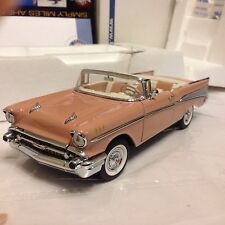 1/24 Franklin Mint Canyon Coral 1957 Bel Air Convertible B11D152 Limited Edition