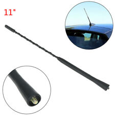 11 inch universal car roof mast whip stereo radio FM/AM signal aerial ante g*MO