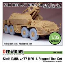 DEF. modello, SHKH Dana Vz.77 MP914 Set Ruota eccesso, DW35006, 1:35