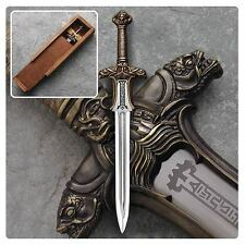Museum Replicas * Atlantean Sword * Conan the Barbarian Letter Opener 6.25 Inch