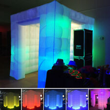 Inflatable Professional LED Air Photo Booth Tent 2.25M for Weddings Parties NEW