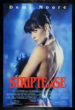 STRIPTEASE * CineMasterpieces STRIPPER DANCER MOVIE POSTER NUDE DEMI MOORE 1996