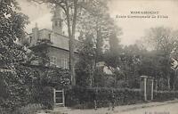 EARLY 1900's VINTAGE WORMHOUDT Ecole Communale de Filles POSTCARD