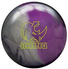 Brunswick Rhino 15 LB Charcoal Silver Violet Bowling Ball NIB 1st Quality