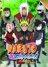 Naruto Shippuden TV Series DVDs Box Set (Episodes 221-380) with English Dubbed