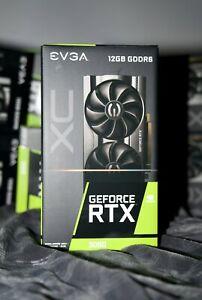 EVGA GeForce RTX 3060 XC GAMING 12GB GDDR6 Graphics Card (12G-P5-3657-KR) NEW