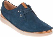 Clarks Oakland Lace Navy Nubuck Men's Shoes UK Size 7 1/2 G
