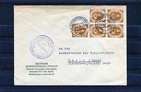 BRD Michel Nr. 124 MeF auf Bedarfsbrief - b0269